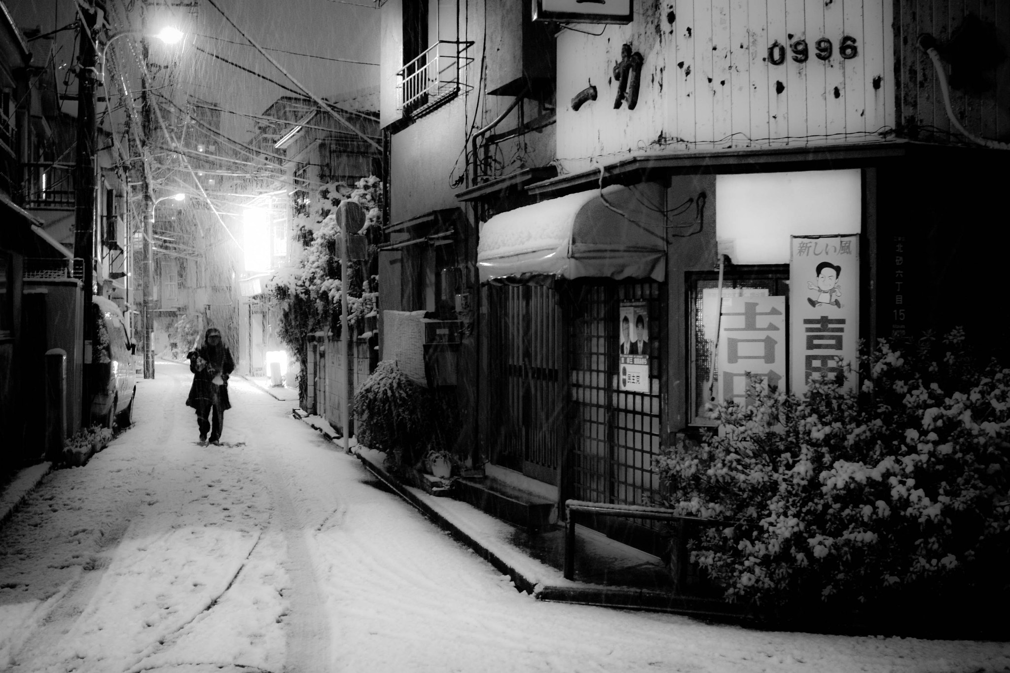 Photograph Tokyo Snow by Chris Gilloch on 500px