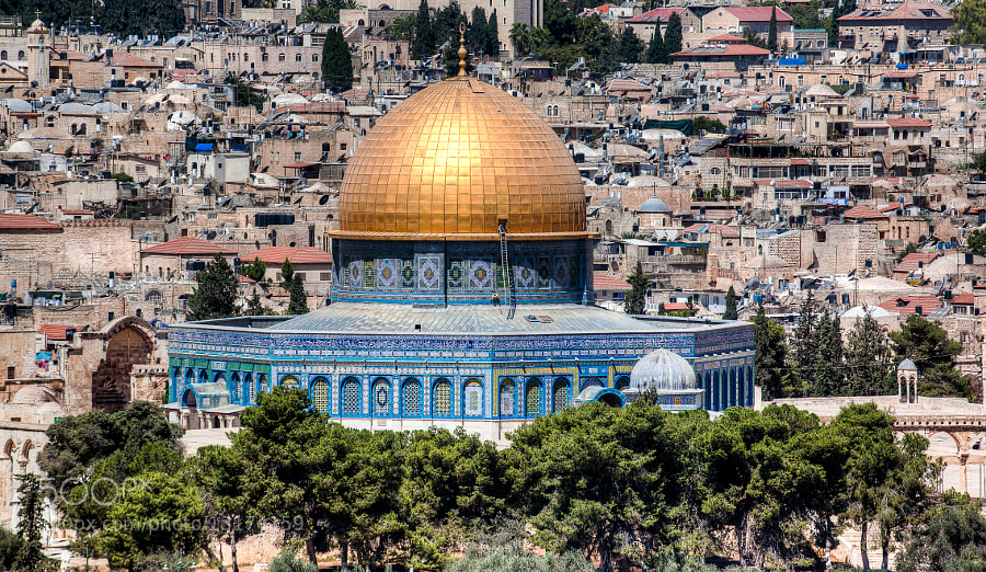 Photograph Dome of the Rock by Uri Baruch on 500px