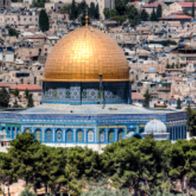 Dome of the Rock by Uri Baruch (ubaruch)) on 500px.com