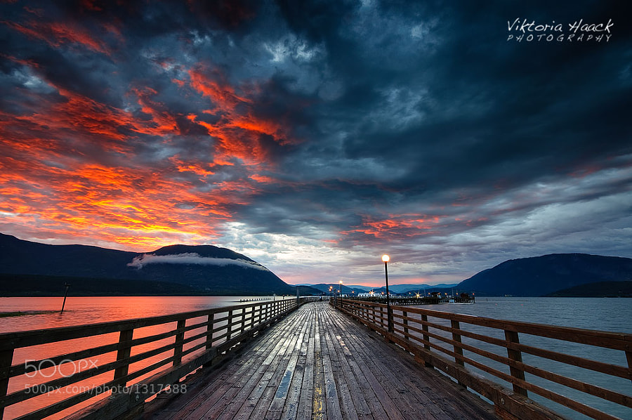 Photograph Sunset Storm by Viktoria Haack on 500px