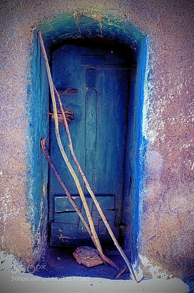 Photograph blue door by mario de marzi on 500px