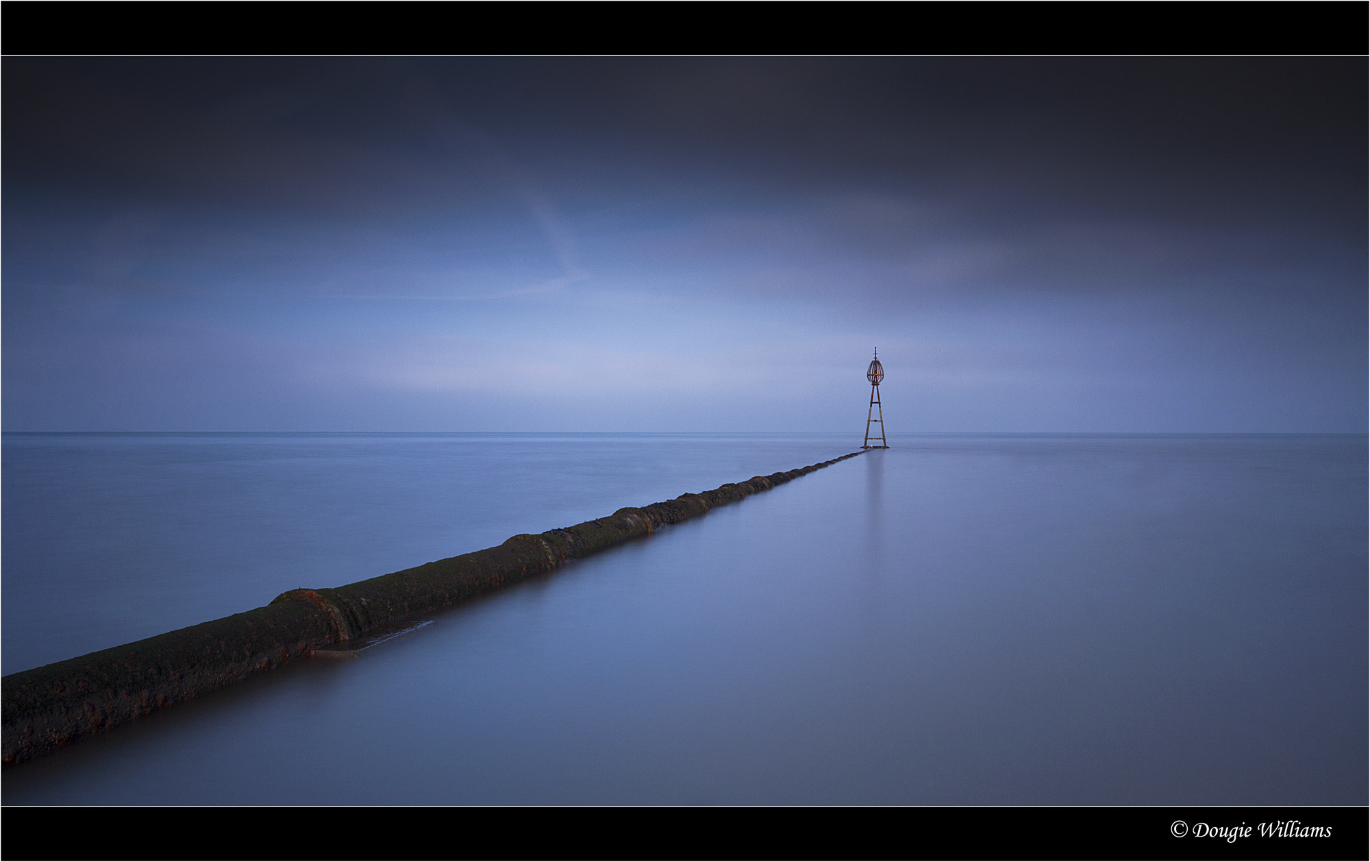Photograph Joppa Pipe in Blue by Dougie Williams on 500px