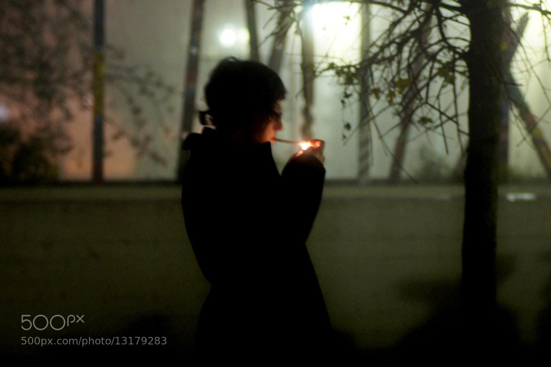 Photograph nightsmoke by Michaela Wendland on 500px