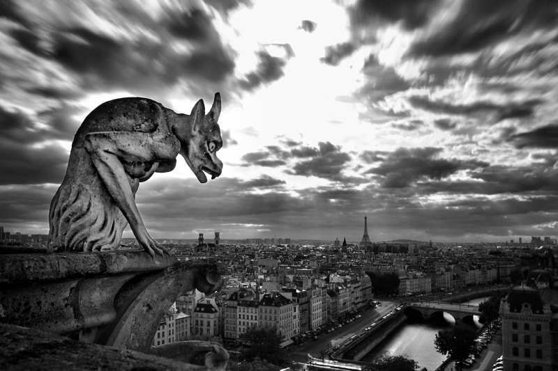 Photograph the sentinel of paris by Julien Guglielminetti on 500px