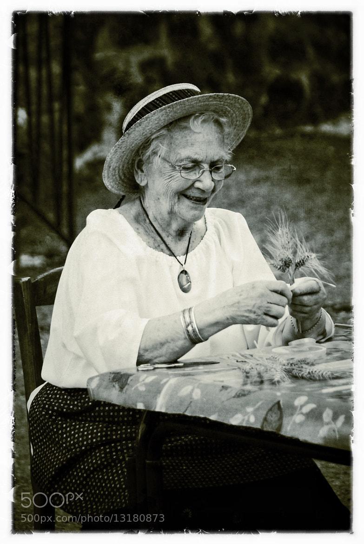 Photograph Corn lady by John Barker on 500px