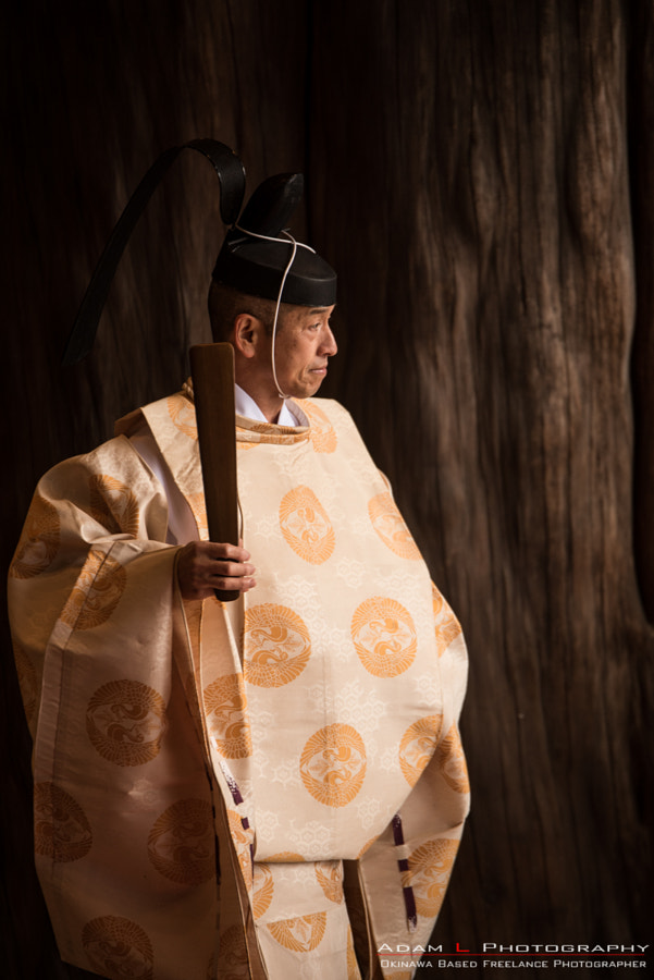 Shinto Priest, Japan by Adam Lewis on 500px.com