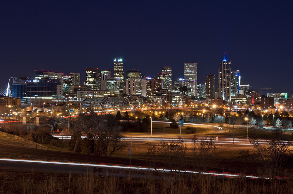 Photograph Denver by Night by Alex Cooper on 500px