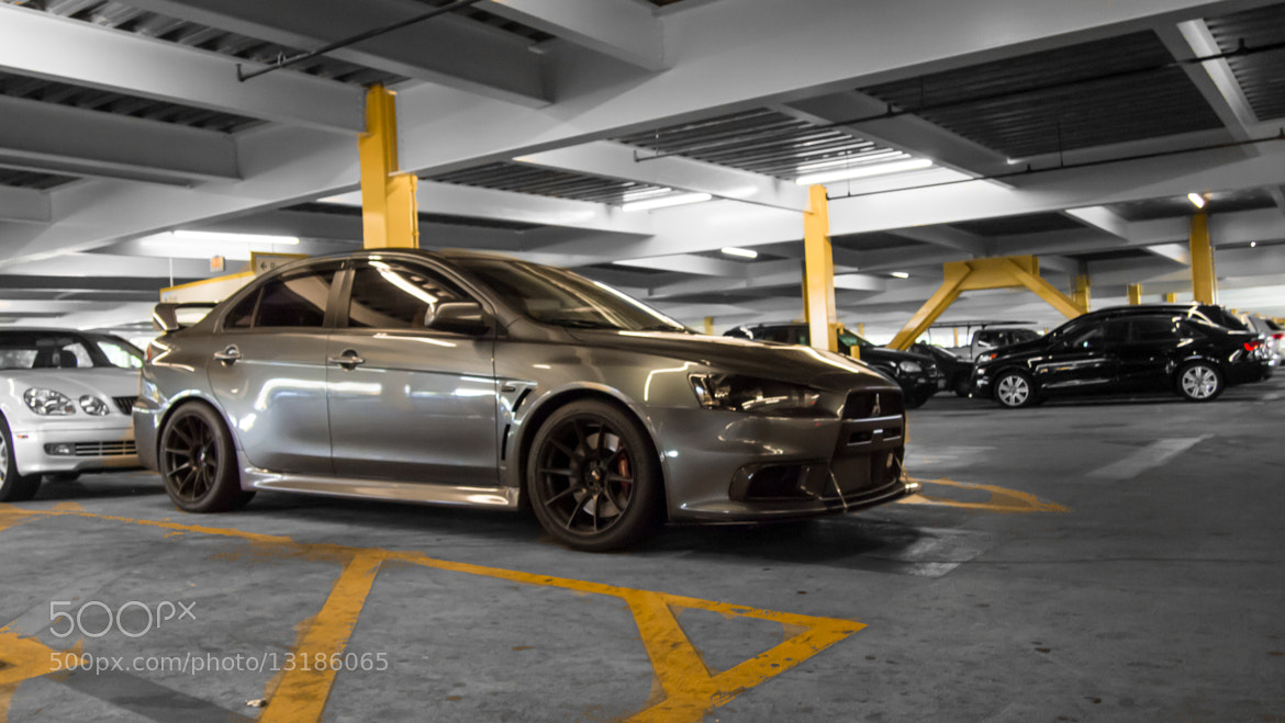 Photograph Evo X by Brent Fishman on 500px