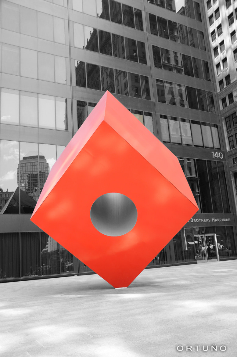 Photograph REd CubE by OLIVIA FUENTES ORTUÑO on 500px