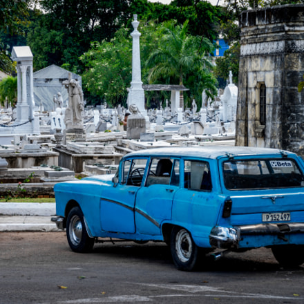 Oldtimer at the Cemetery