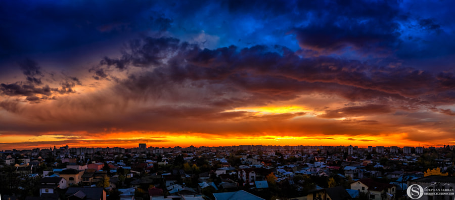 City sunset by Octavian Serban on 500px.com