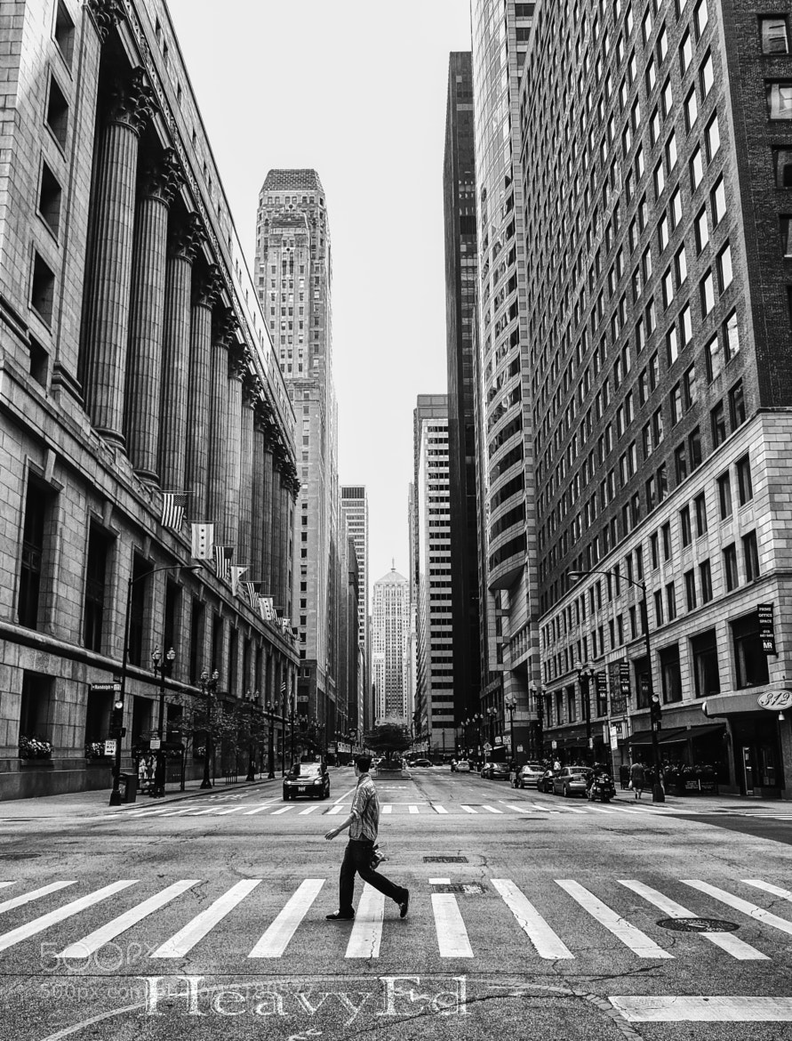 Photograph Quiet side of Chicago. by Ed Hall on 500px