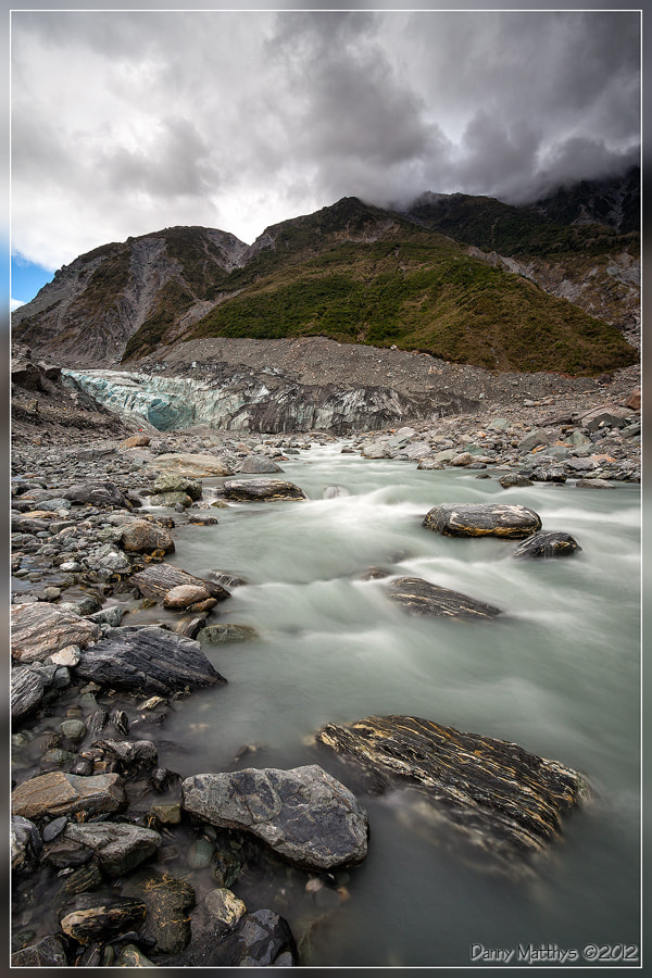 Photograph Glacier river by Danny Matthys on 500px