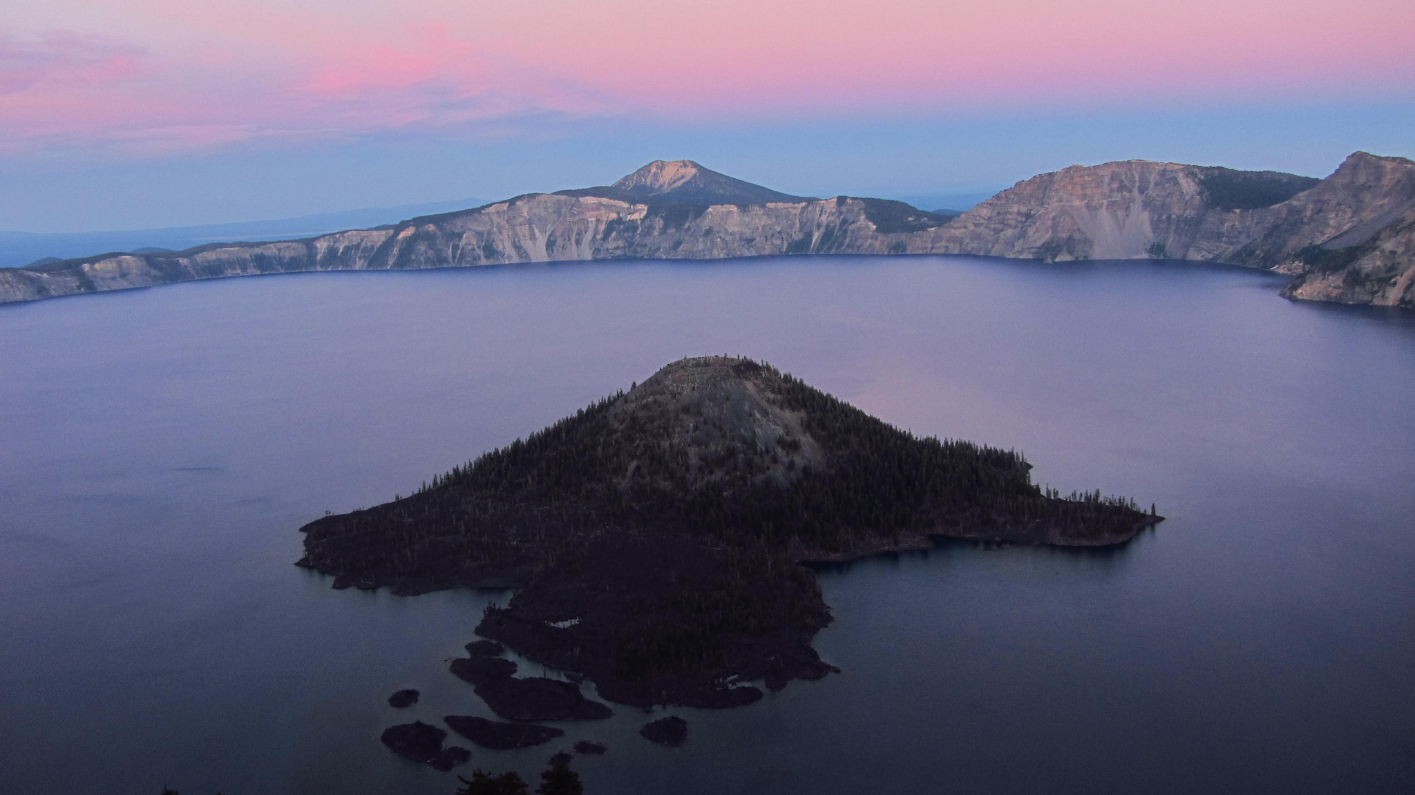 Photograph Dusk @ Crater Lake, Oregon by Bharath Booshan on 500px
