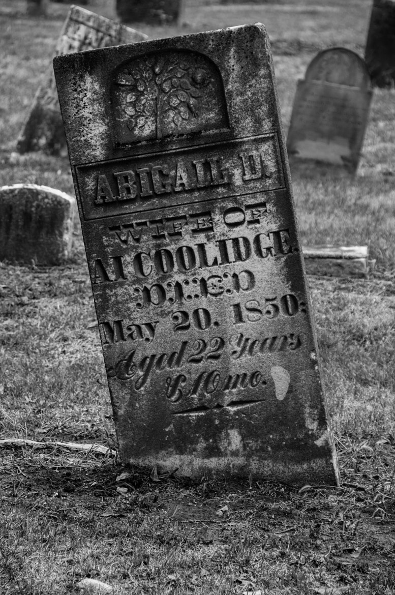 Photograph Tilted Tombstone by Matt Diley on 500px
