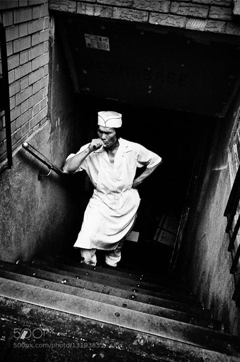Photograph Smoke break by Walter  Shin on 500px
