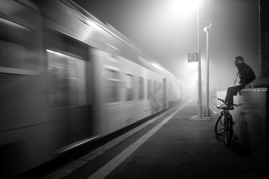 Foggy Waiting by Marco Introini on 500px.com