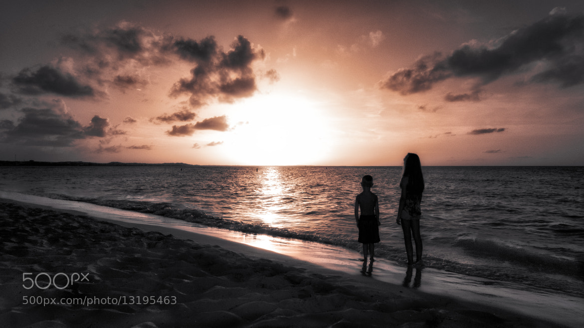 Photograph Sunset Worshippers by Maria Luciana Robinson on 500px