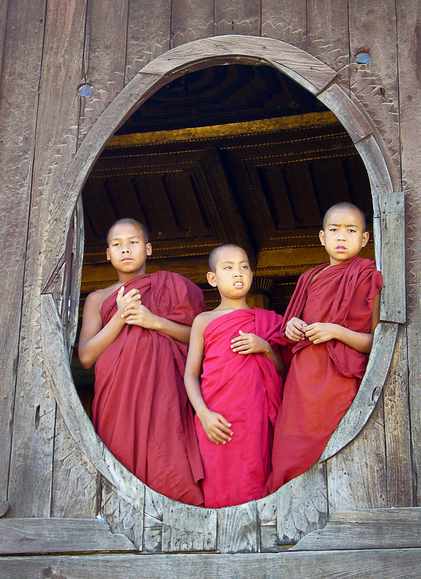 Photograph monks by Marichu Rodriguez on 500px