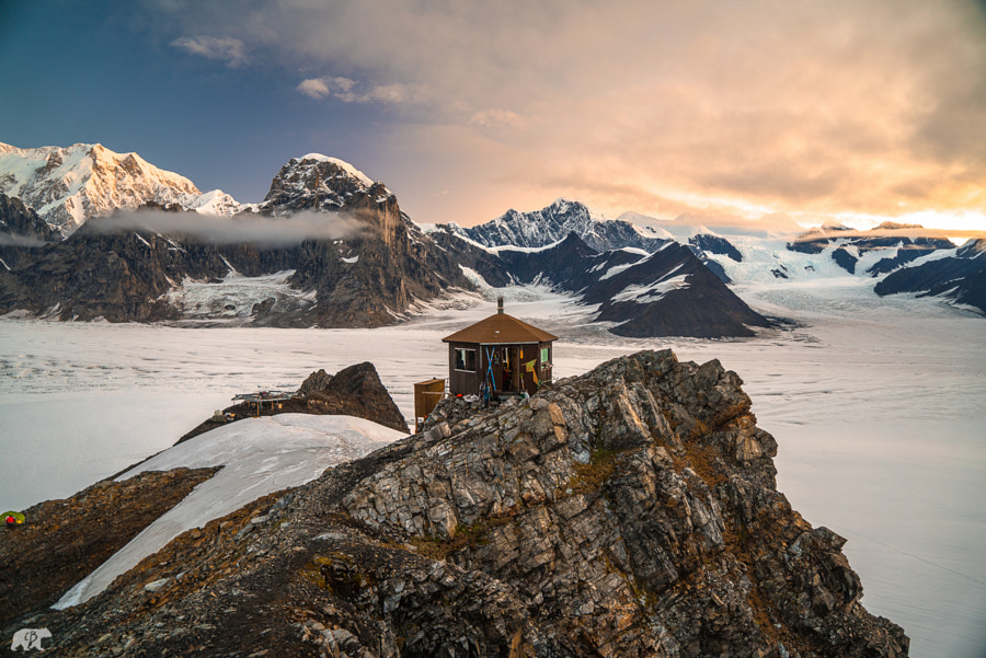 Denali Hut by Chris  Burkard on 500px.com