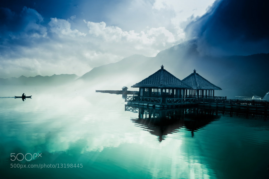 Photograph Mystic Lake by Wisnu Taranninggrat on 500px