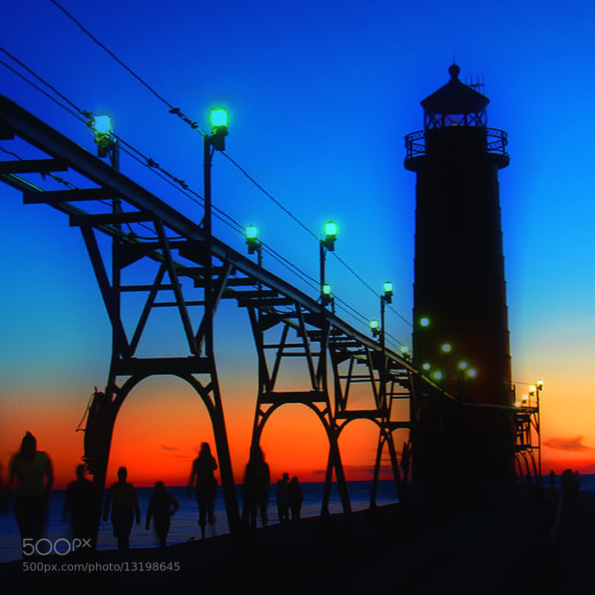Photograph Grand Haven Light by Thomas Alexander on 500px