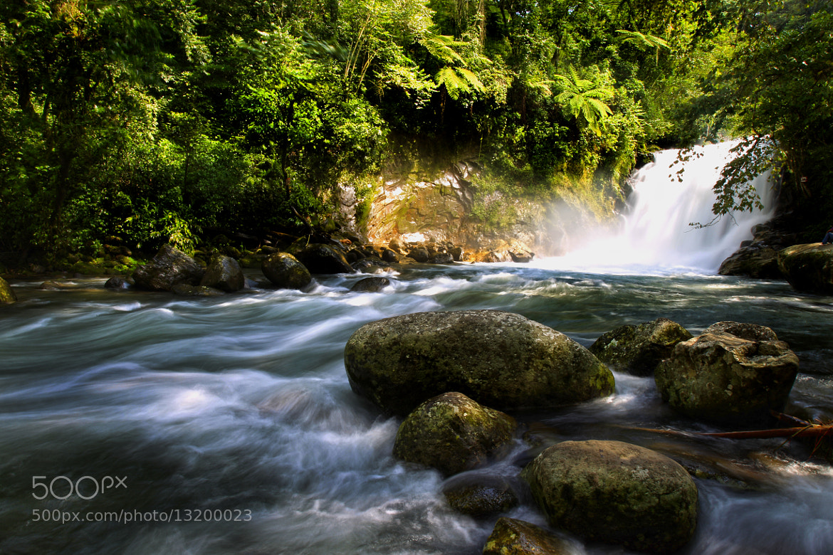 Photograph Waterfall and river by Cristobal Garciaferro Rubio on 500px