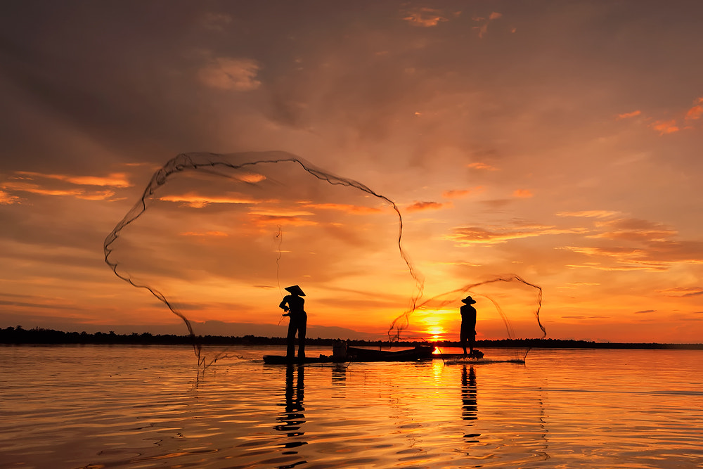 Photograph Two Nets by Saravut Whanset on 500px