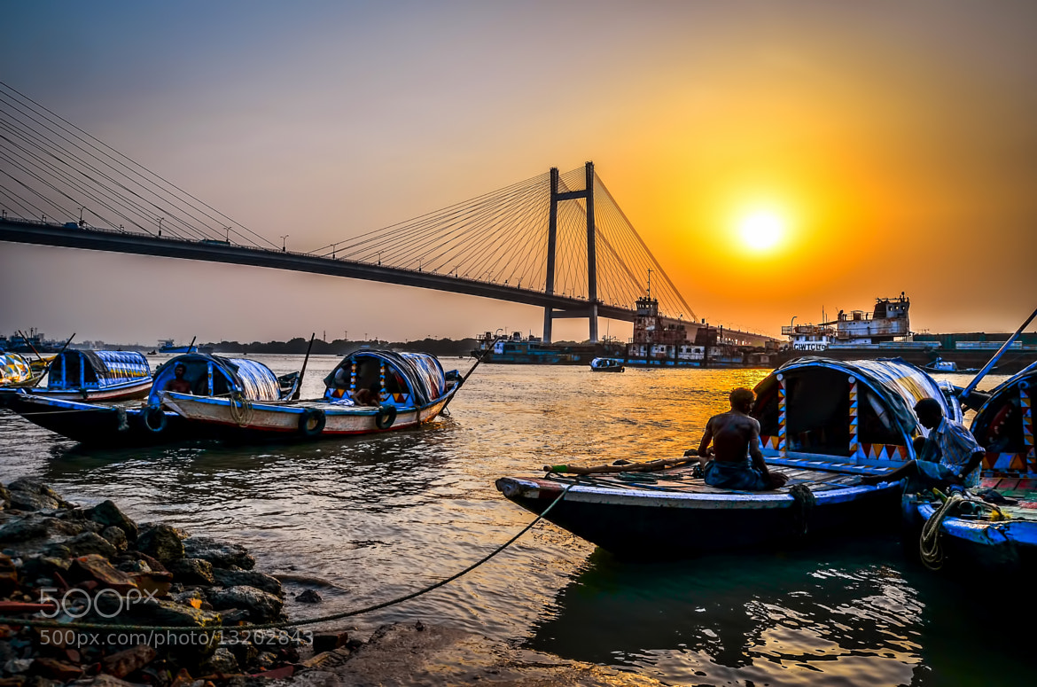 Photograph Sunset On the Ganges3 by Palash K on 500px