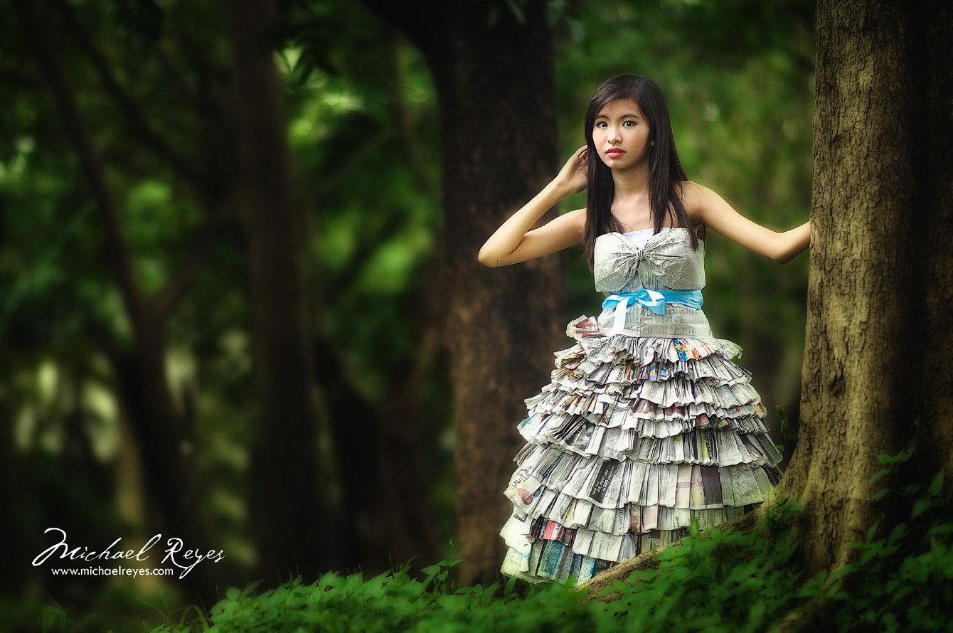 Photograph Girl Lost in the Woods by michael reyes on 500px