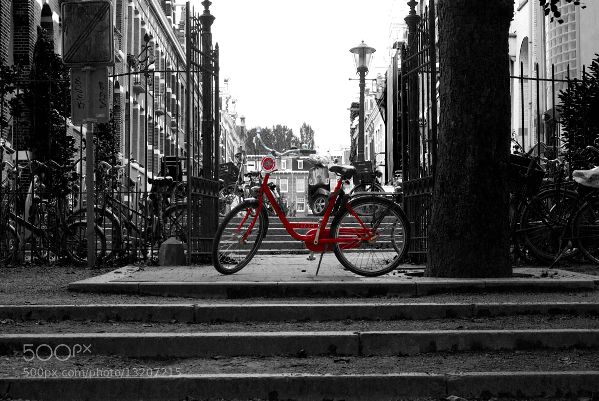 Photograph Red Bicycle by Bobby Gonzalez on 500px