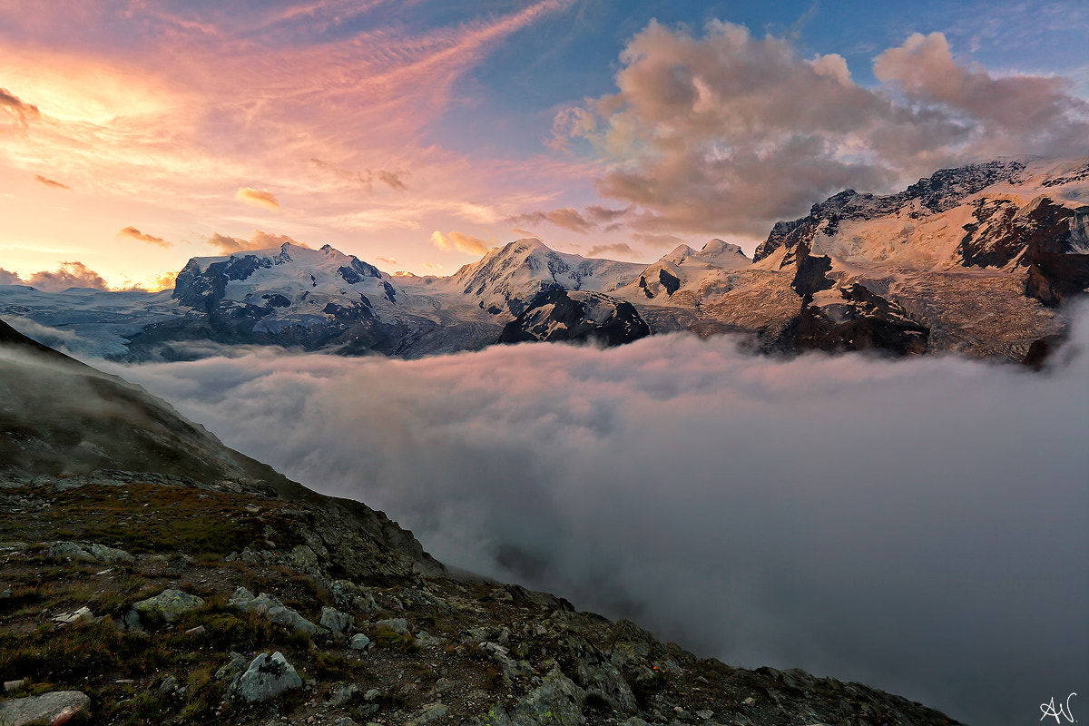 Photograph River of clouds by Andrea Visca on 500px