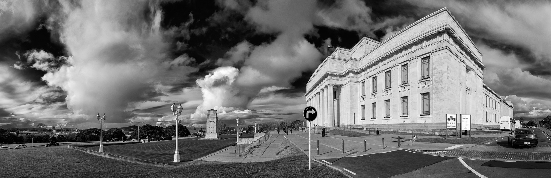 Photograph Auckland museum panorama by Chris Veale on 500px