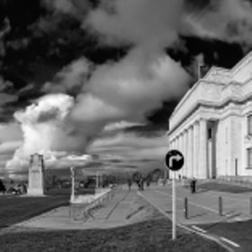 Auckland museum panorama by Chris Veale (Way2chirper)) on 500px.com