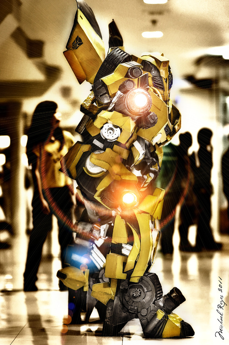 Photograph Cosplay Bumblebee by michael reyes on 500px