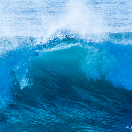 Pacific Surf - Oceanside, Canon EOS 7D, Canon EF 80-200mm f/2.8L