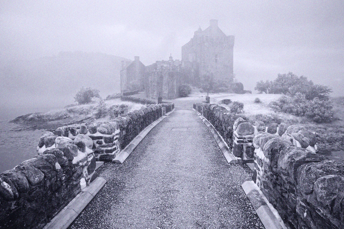 Photograph Castle in the Mist by Marcus McAdam on 500px
