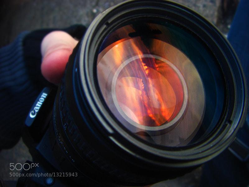 Photograph Sunset in My Lens by Bartosz Chojnowski on 500px