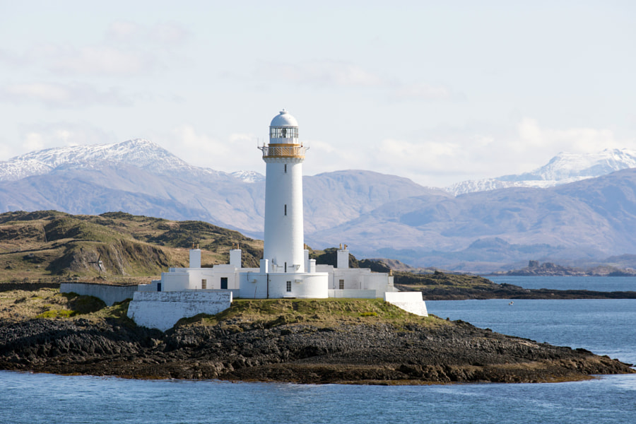 Lismore Lighthouse Scotland