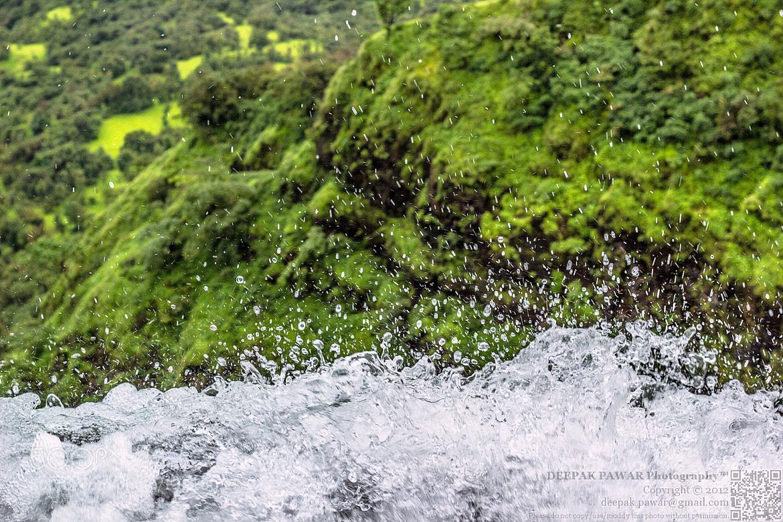 Photograph Peeking down the waterfall by Deepak Pawar on 500px