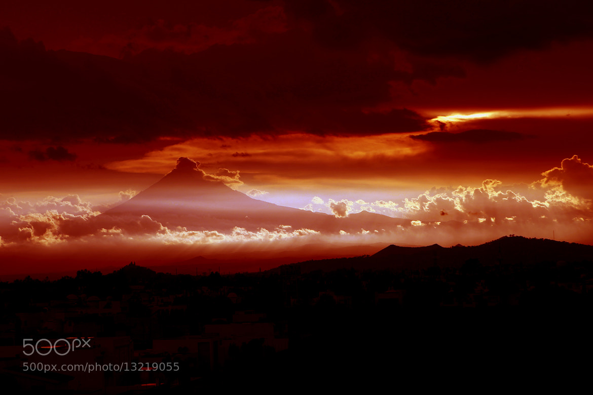 Photograph Sunset an Volcano by Cristobal Garciaferro Rubio on 500px