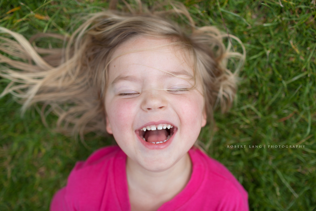 Photograph Child laughing by Robert Lang on 500px