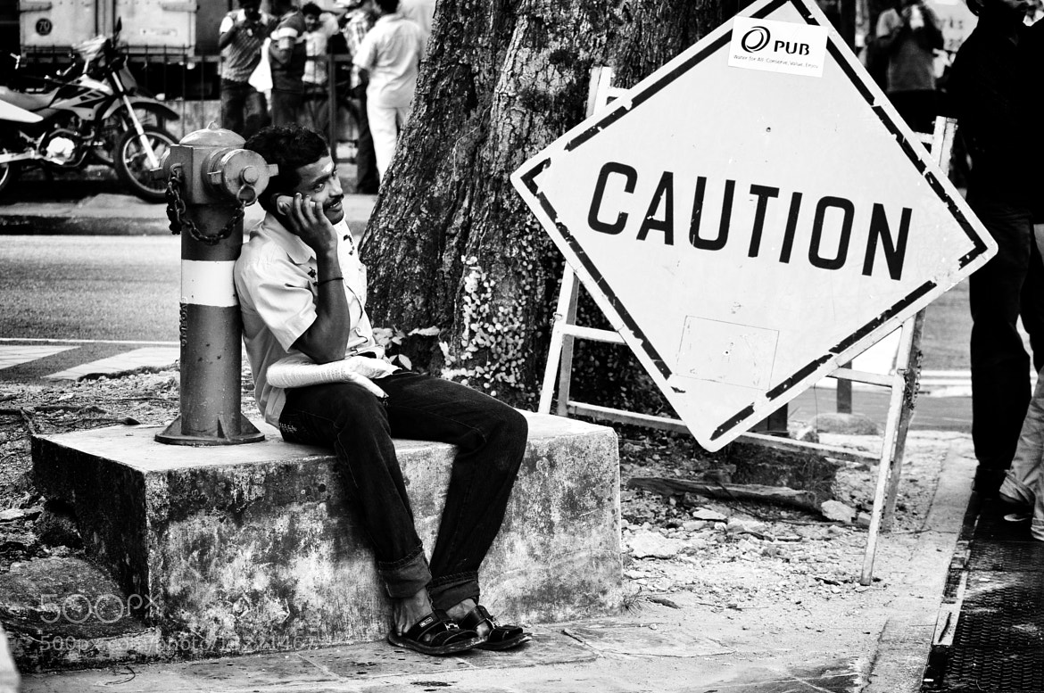 Photograph Caution by Nimrod Resulta on 500px