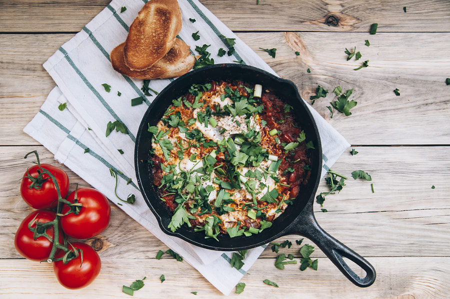 Shakshuka by Anastasia Belousova on 500px.com