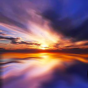 sunset reflection by Iain Bramwell (IainBramwell)) on 500px.com