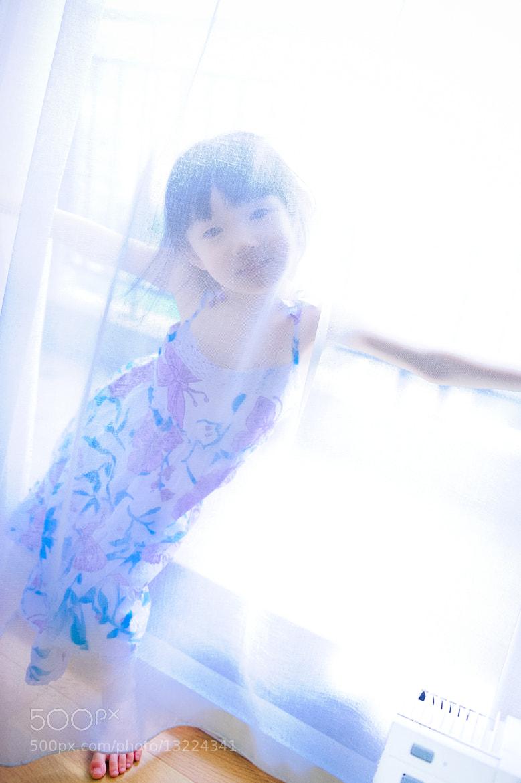 Photograph Naughty girl behind veil by Rex Liu on 500px