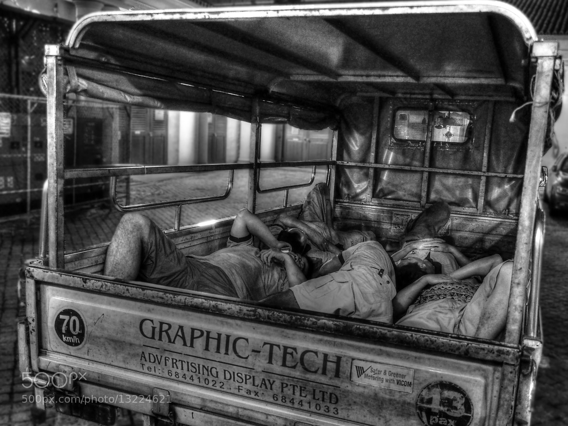 Photograph Truck Load of Men by Dannie Sorum on 500px