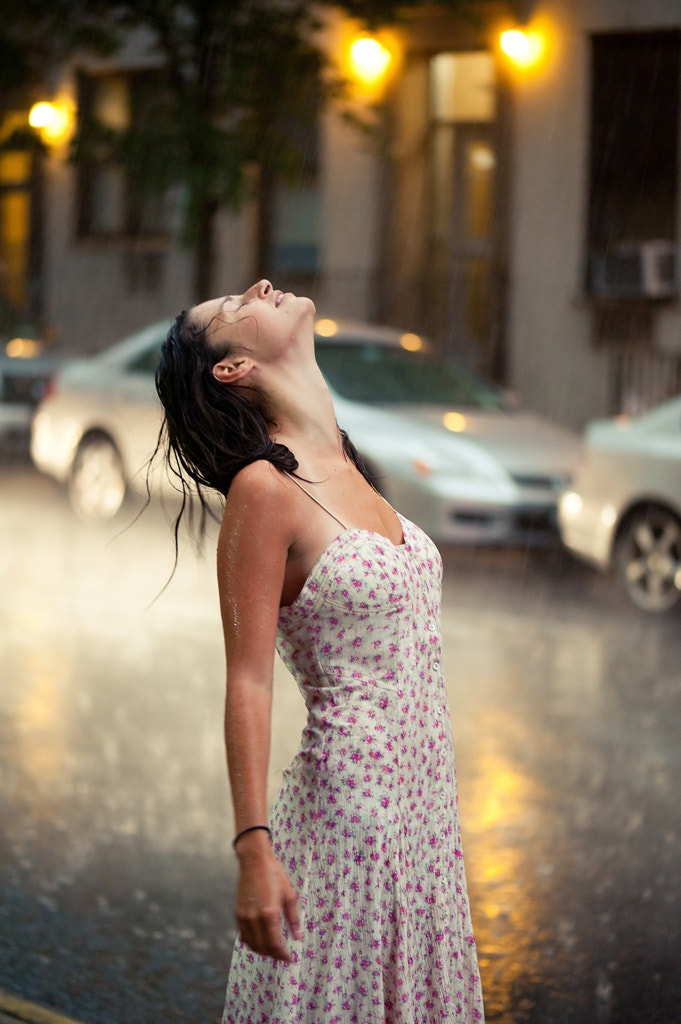 Photograph ashley in the rain by Mike Ricca on 500px