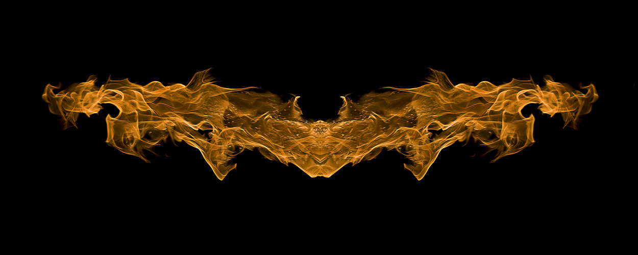 Photograph The Dark Knight on Fire by Kam Khan on 500px