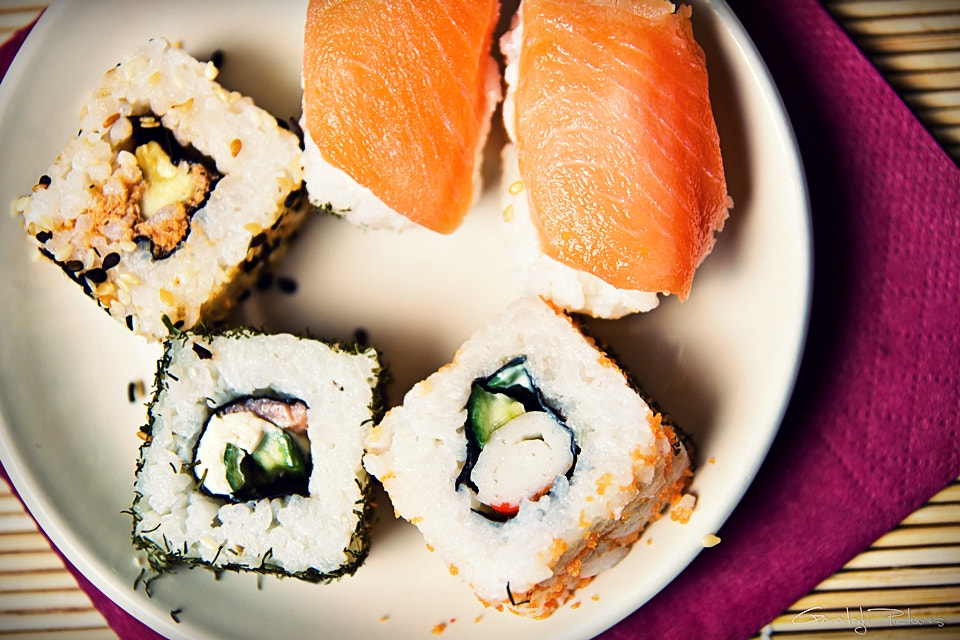 Photograph Sushi by Feingeist Photography on 500px